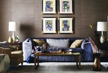 Wall Paint Ideas for Brown and Blue Decor / by Nancy Bryson