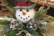 Christmas decorating ideas table centre pieces