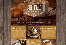 New Coffe Shop Flyer