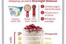 Overnight Oatmeal / by Heather Verde