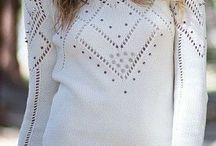 свитер с шипами