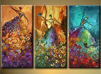 paintings / art / by Maymana Kaissi