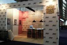 Coordonne at Heimtextil Exhibition, Frankfurt / Coordonne's stand at the Heimtextil show in Frankfurt last month, where they launched their new 'Ceylan' collection!