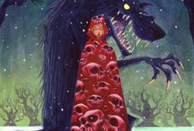 Fairytale Red Riding Hood / by Tere Wood