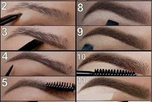 Eyebrows and make up tips