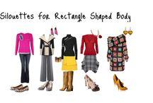 Rectangle Body Shape