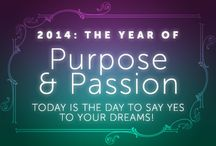 2014: The Year of Purpose & Passion / Inspiration from Chopra Center Meditation to support you as you follow your passion, find your purpose, and discover true freedom!