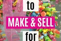 make and sell for extra money