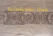 My embroideries Elenfly Helenz