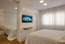 Quartos favoritos / O espaço mais íntimo da casa que é reservado ao descanso e relaxamento.