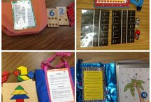 Math and Reading Bag/Backpack / Education PK / by Stephanie Ellis