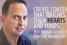 Jeff Bullas' Advice for Content Marketers / When it comes to Jeff Bullas, you just can't leave without grabbing a thought-provoking piece of advice for your business! Read the whole interview and discover!
