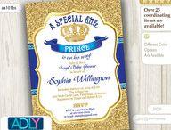 Royal Blue Prince Baby Shower
