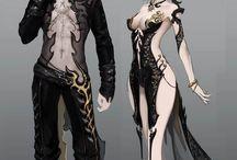 костюмы игры