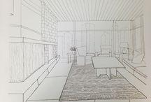 interiors sketch / interiors sketch
