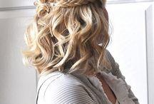 kapsels half lang haar