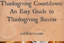 Thanksgiving 2015 / Recipes, tips, decor for Turkey Day