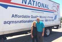 National Van Lines Around the USA / A board of interesting places our drivers, agents and employees see as they move memories across the United States National Van Lines #MovingMyMemories