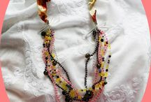 Necklace / my products-sewing, crochet, beads