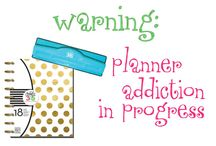 Planner Addiction in Progress / Everything planners.