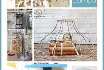 lampshades to upcycle / by Sara Kaiser