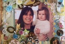 Scrapbook Delights / Scrapbooking with lots of detail, dimensions and layers are gorgeous and great fun!