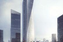 wieżowce