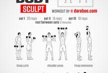 Dumbles workout