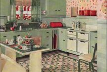 Jaren vijftig/zestig  / Interieur