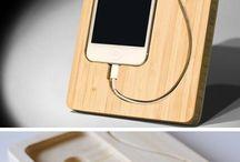 Phone woodwork
