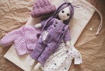 Текстильные куклы / Идеи , выкройки кукол