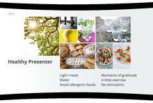 Presenters health tips