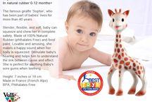 All About Sophie / Sophie the Giraffe is a 100% natural teething toy produced by Vulli toys that is loved by children worldwide. Sophie La Girafe is made in France from the Hevea tree and is now available in New Zealand thanks to SUCAH the official New Zealand Distributor.