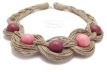 biżuteria ze sznurka