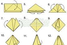 Оригами, кусудама / Красота из бумаги