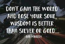 word of Bob Marley