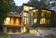 Atlanta - Bold and Modern / Featured Bold and Modern Homes right in the Atlanta Metro area. #atlanta #modern #architecture
