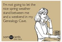 Genealogy Humor / by Federation of Genealogical Societies
