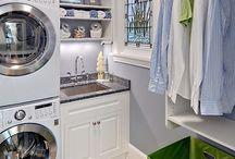 Laundry Room and Closet