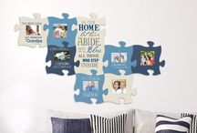 Puzzle Piece Wall Decor p. graham dunn (pgrahamdunn) on pinterest