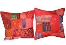 Pactchwork Toss Pillow Cushion Covers