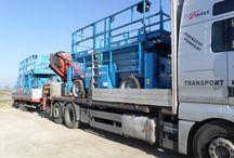 Transport, usługi HDS / Transport wszystkich ładunków, od palet po elementy elektrowni wiatrowych, od motorów po kombajny