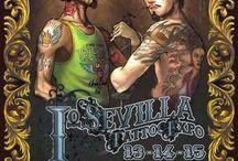 Sevilla Tattoo Convention / Posters del Sevilla Tattoo Convention