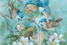 Shirley Barber иллюстрации
