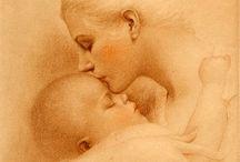 anya és gyermek