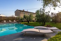 Casale Elvy, Vacation Farmhouse in Lucca, Tuscany / CASALE ELVY , this beautiful farm house, is located on the hills north of Lucca surrounded by the famous historical villas of Lucca with the view of the most important one, the great Villa Reale.