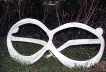 Eyewear In Shady Sculptured Signs / Eyewear signs, eyewear and sunwear sculptures