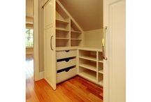 Garderobe, oppbevaringsplass ++