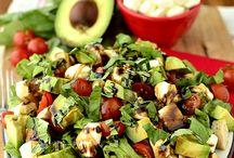 Salads / by Katie Kreiger