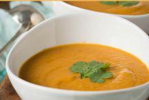 Suppe mit kokosmilch